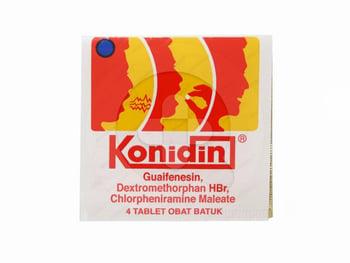 Konidin tablet adalah obat yang digunakan untuk dapat meringankan batuk