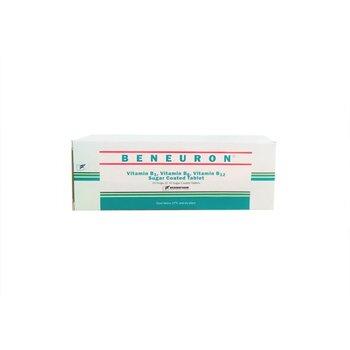 Beneuron tablet adalah adalah obat untuk mengatasi kekurangan vitamin B1, vitamin B6, dan vitamin B12
