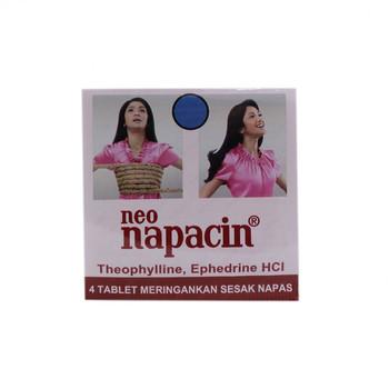 Neo Napacin tablet adalah obat untuk meringankan sesak napas