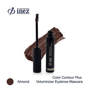 Inez Voluminizer Eyebrow Mascara - Almond harga terbaik