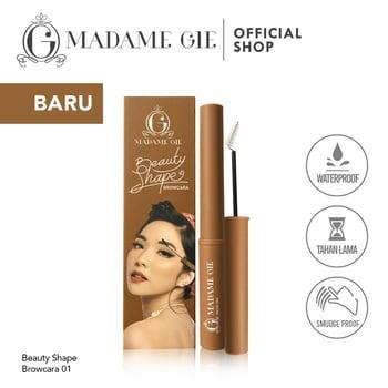 Madame Gie Beauty Shape Browcara - MakeUp Mascara Alis Browcara 01