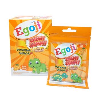 Egoji Chewy Gummy Plus Vitamin C Rasa Jeruk  harga terbaik
