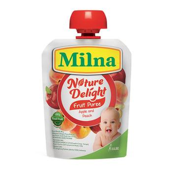 Milna Nature Delight Apple & Peach 80 g