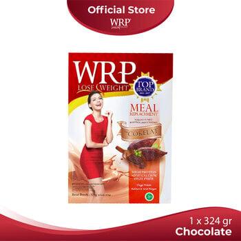 WRP Meal Replacement Chocolate 324 g harga terbaik 109500
