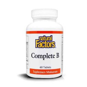 Natural Factors - Complete B 100mg  harga terbaik