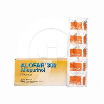 Alofar tablet adalah obat untuk mengatasi kadar asam urat tinggi dalam darah