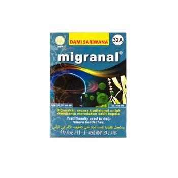Dami Sariwana Migranal 100 Pil harga terbaik 14000