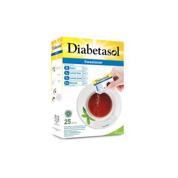 Diabetasol Sweetener Zero Calorie Sachet 1,25 g - 25 Sachet harga terbaik