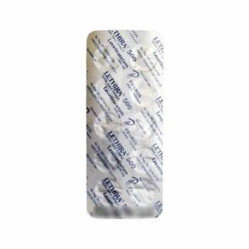 Lethira Tablet adalah obat yang mengandung levetiracetam 500 mg.