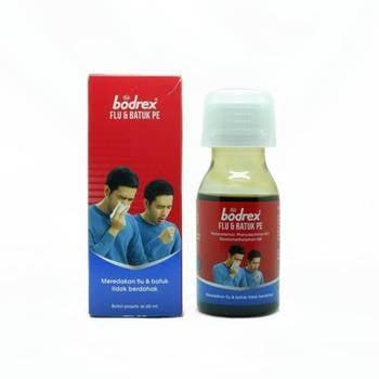 Bodrex sirup adalah obat untuk meredakan gejala flu