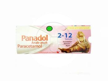 Panadol anak tablet adalah obat yang digunakan untuk meredakan rasa sakit dan demam