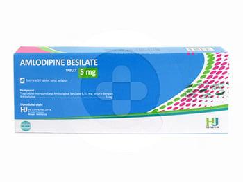 Amlodipine Hexpharm Tablet 10 mg  harga terbaik 6004