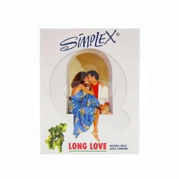 Simplex Kondom Long Love Natural Male  harga terbaik
