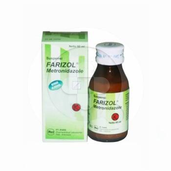 Farizol suspensi adalah obat untuk mengobati infeksi yang disebabkan oleh bakteri.