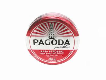 Pagoda Pastiles Strawberry 20 g harga terbaik 5704