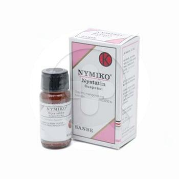 Nymiko suspensi adalah obat untuk mengatasi infeksi pada rongga mulut, kerongkongan (esofagus), saluran pencernaan yang disebabkan oleh Candida albicans