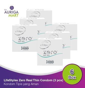 LifeStyle Zero Real Thin - Long Lasting Kondom  harga terbaik 215400