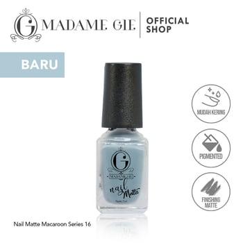 Madame Gie Nail Matte 16 Ricciarelli harga terbaik 7200