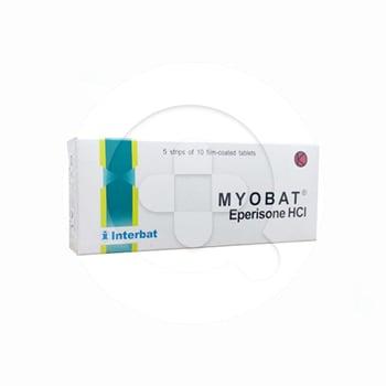 Myobat tablet digunakan untuk mengobati gangguan fungsi sendi dan otot