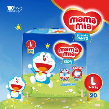 Mamamia Baby Diapers Pants L20 harga terbaik 34900