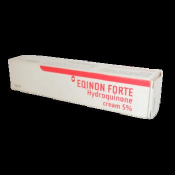 Eqinon forte 5 % krim 15 g adalah obat untuk Mengatasi hiperpigmentasi atau bercak-bercak gelap pada kulit akibat pasca-inflamasi, melasma saat masa hamil, atau penggunaan kontrasepsi oral.