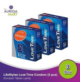 LifeStyles Love Time - Long Lasting Kondom  harga terbaik 53700