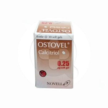Ostovel Kapsul adalah obat yang mengandung  calcitriol 0,25 mcg