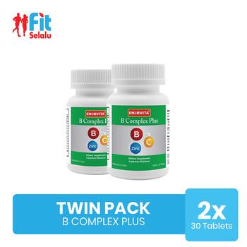 Enervita Vitamin B Complex 30 Tablet - Twin Pack harga terbaik 238000