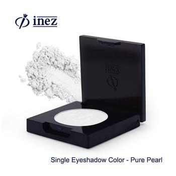 Inez Single Eyeshadow Color Pure Pearl harga terbaik