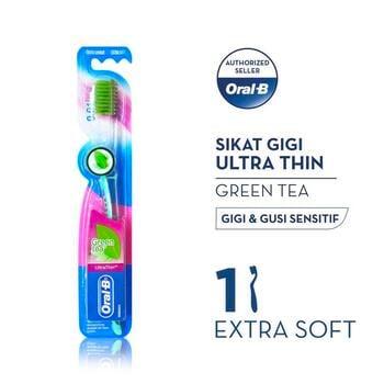 Oral-B Sikat Gigi Ultrathin Green Tea 1s harga terbaik 20800