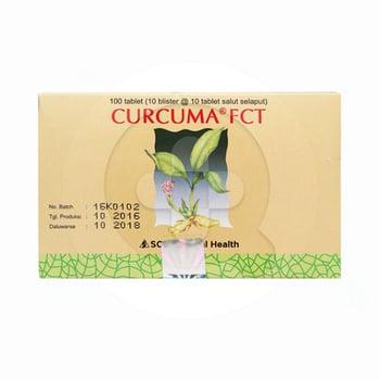 Curcuma FCT Tablet  harga terbaik 11709