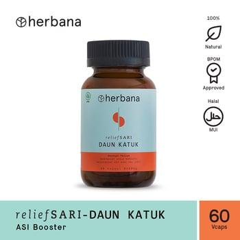 Herbana Relief Sari Daun Katuk - 60 Kapsul harga terbaik 121200