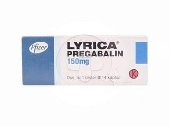 Lyrica Kapsul 150 mg  harga terbaik 361306