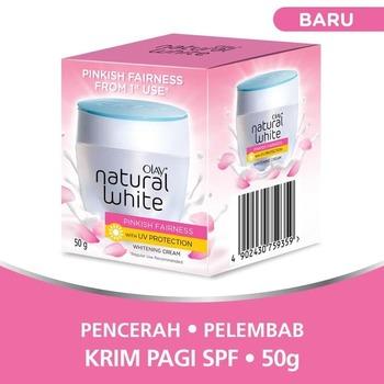 Olay Krim Pencerah - Natural White Pinkish Fairness UV Protection 50 g harga terbaik