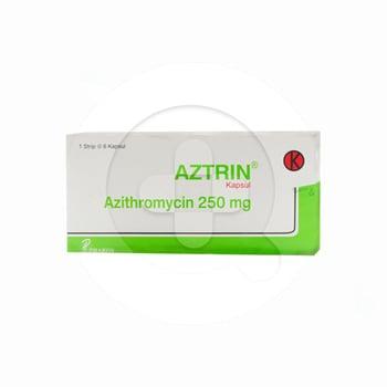 Aztrin kapsul adalah obat yang digunakan untuk mengobati infeksi akibat bakteri
