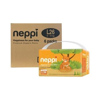Neppi Premium Baby Diaper Pants L 26 - Karton  harga terbaik 393300