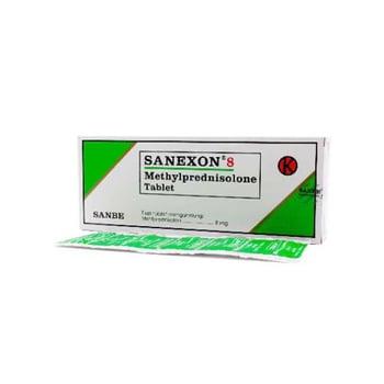 Sanexon Tablet adalah obat untuk methylprednisolone digunakan untuk mengatasi gejala peradangan