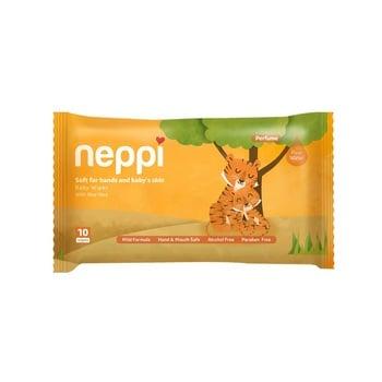 Neppi Baby Wipes Parfum 10's  harga terbaik 7500