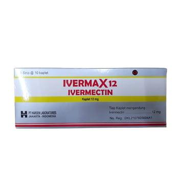 Ivermax kaplet adalah obat untuk mengobati infeksi cacing strongyloidiasis dan onchocerciasis
