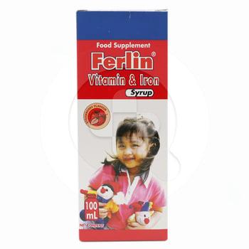 Ferlin Sirup 100 mL harga terbaik 40533