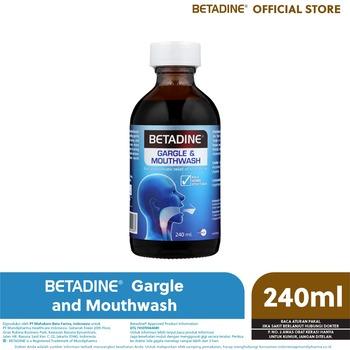 BETADINE Mouthwash & Gargle 240 ml harga terbaik 65000