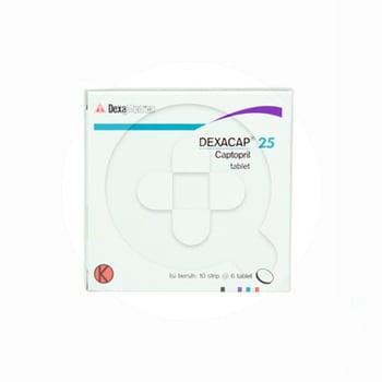 Dexacap tablet adalah obat untuk menurunkan tekanan darah tinggi.