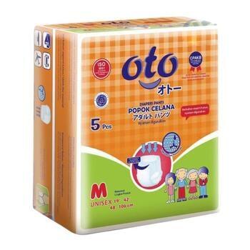 OTO Adult Diapers Pants / Popok Dewasa Model Celana - M  harga terbaik 34000
