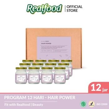 Realfood Hair Power Program 12 Hari harga terbaik 600000