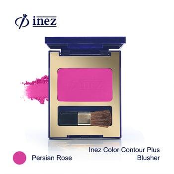 Inez Color Contour Plus Blusher - Persian Rose harga terbaik