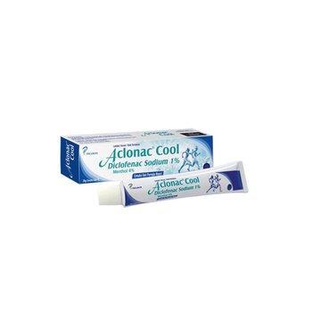 Aclonac cool gel 20 g untuk meredakan peradangan akibat trauma tendon, ligamen dan otot, dan penyakit rematik.
