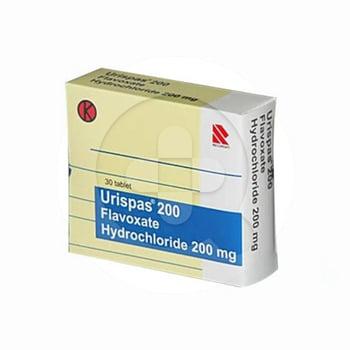 Urispas Tablet adalah obat untuk membantu meringankan gangguan pada saluran kemih