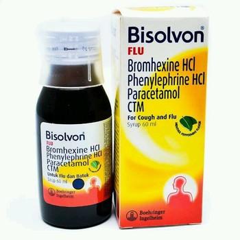 Bisolvon Flu Sirup 60 ml harga terbaik