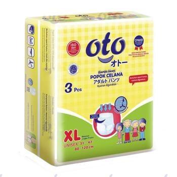 OTO Adult Diapers Pants / Popok Dewasa Model Celana - XL  harga terbaik 29000