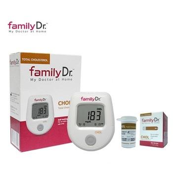 FamilyDr Alat Test Cholesterol Full Set  harga terbaik 990000